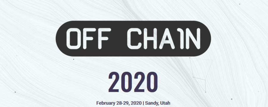 "Unique Preparedness and Blockchain Conference ""Off Chain"" Returns to Utah"