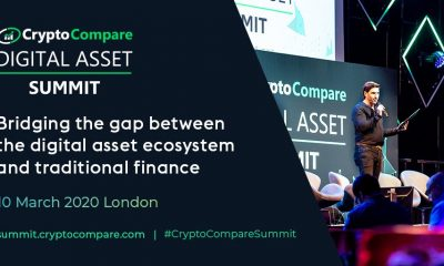"Bitfinex and Tether CTO to reveal ""The Story of Tether"" during an industry-first keynote at the CryptoCompare Digital Asset Summit"