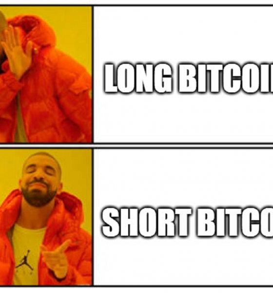 Why would you long Bitcoin here? Shorting is the safest bet