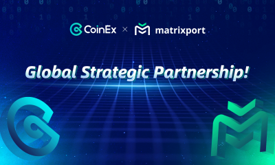CoinEx Announces Global Strategic Partnership with Matrixport to Provide Over-the-counter Service