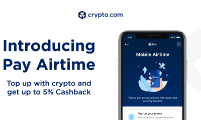 Crypto.com Pay Introduces Pay Airtime