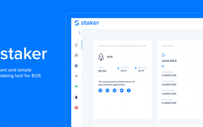 Staker.one | New Staking Tool For EOS
