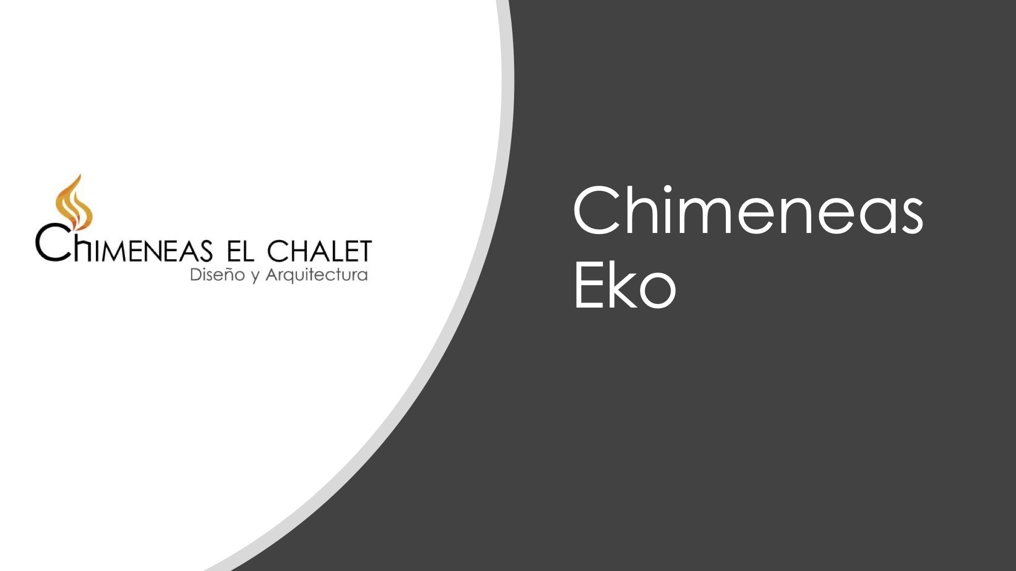 Portafolio Chimeneas diseno Eko 2019 Chimeneas el chalet SAS 1 - Chimeneas Bogotá