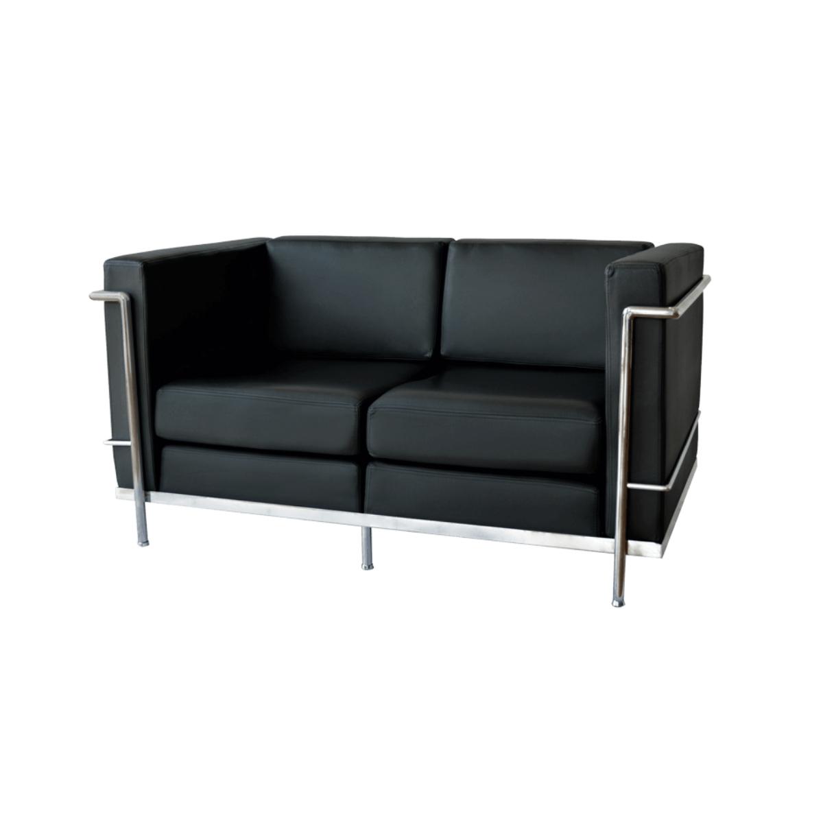 sofa-001-black-chrome