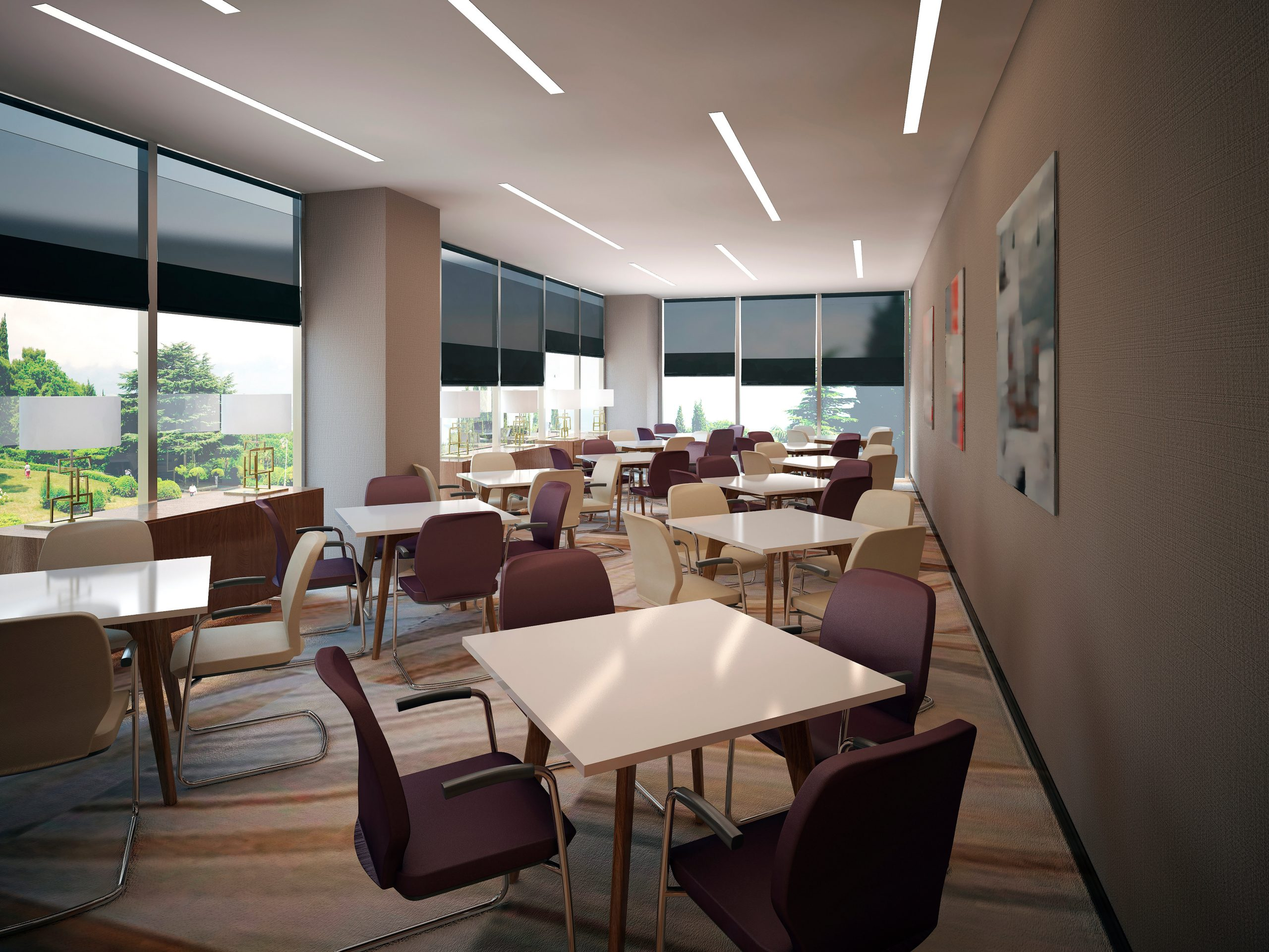 interior meeting room, 3d images
