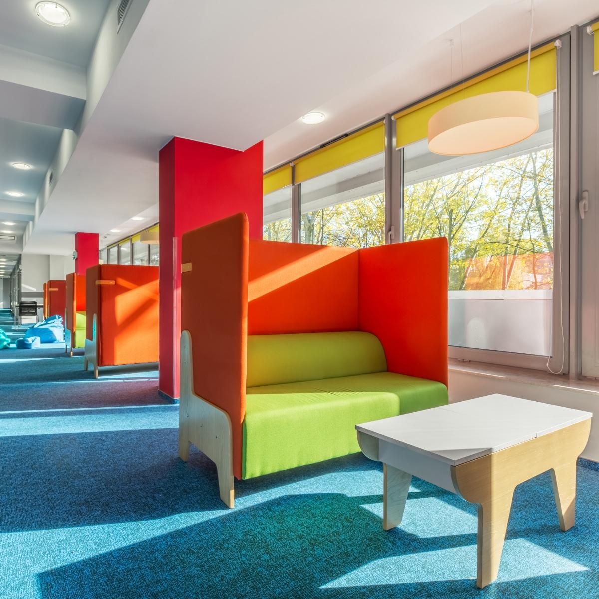 Telas para mobiliario institucional – Oficina
