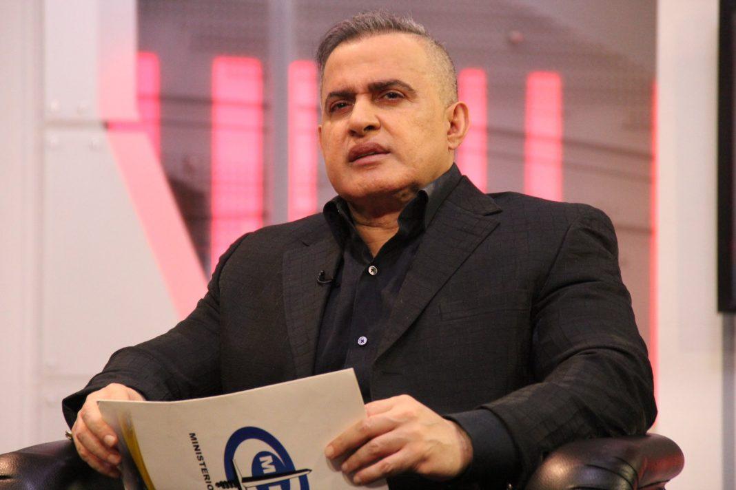 Tarek William Saab en una entrevista como Fiscal General