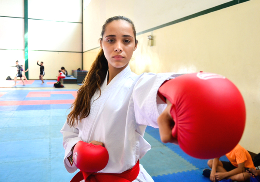 Panamá niega visa, Venezuela, Karate do