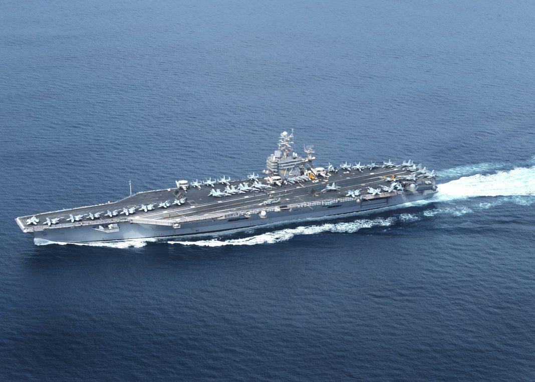 Foto de archivo de 2012 del portaaviones USS Abraham Lincoln/ EFE