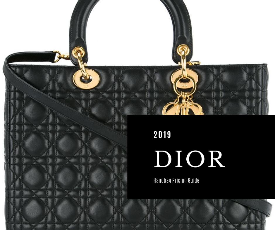 Christian Dior bag price