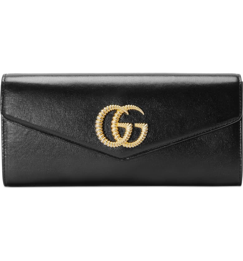 Gucci Broadway Leather Evening Clutch