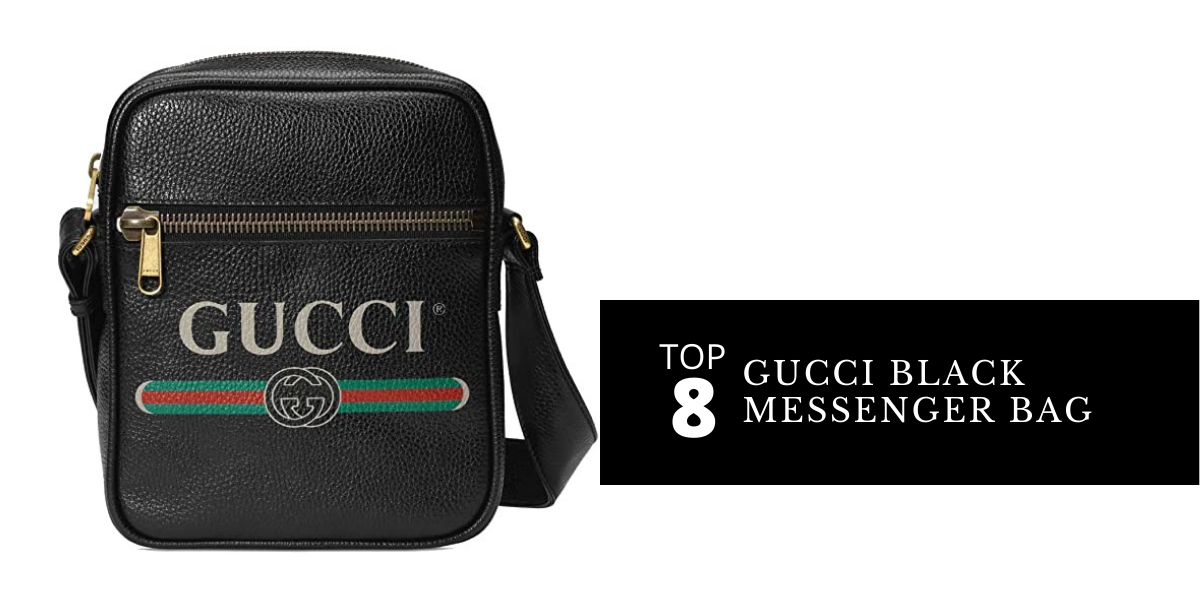 Best 8 Black Gucci Messenger Bags