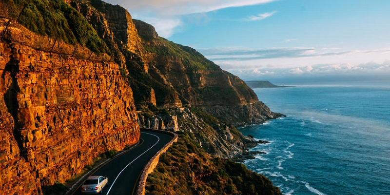 Carro em Cape Point e Cabo da Boa Esperança