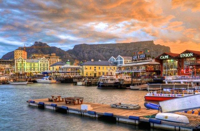V&A Waterfront na Cidade do Cabo