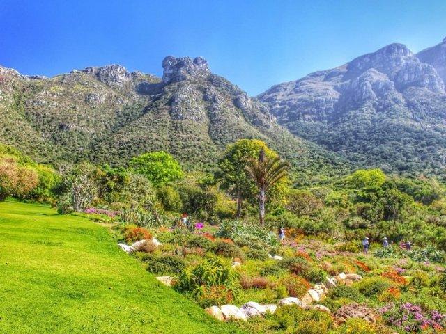 Kirstenbosch National Botanical Garden na Cidade do Cabo