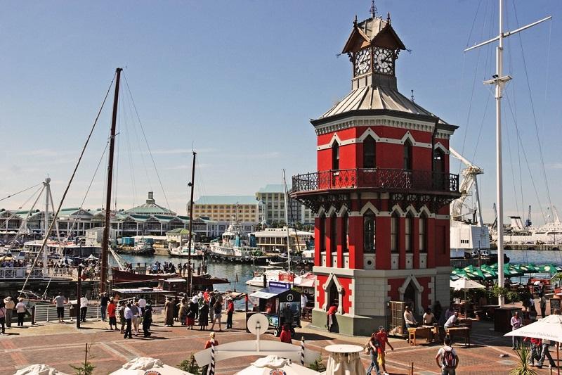 Lazer e entretenimento em V&A Waterfront na Cidade do Cabo