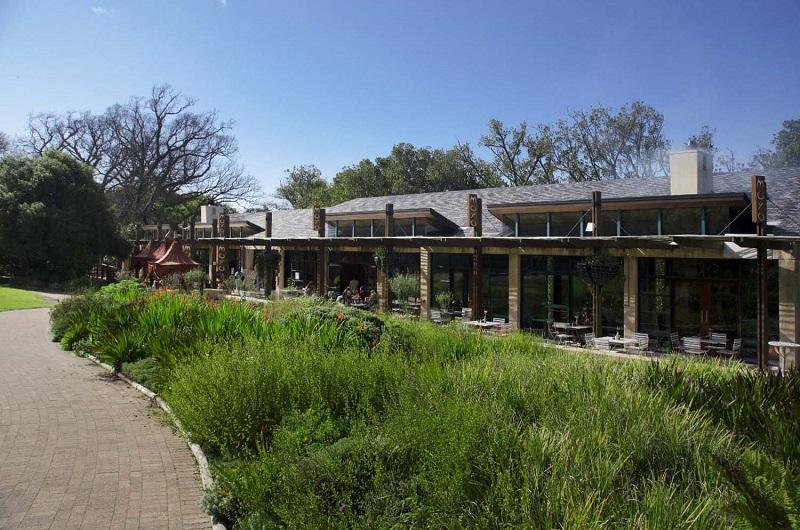 Restaurante no Kirstenbosch National Botanical Garden na Cidade do Cabo