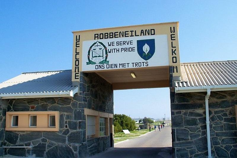 Entrada da Ilha Robben na Cidade do Cabo