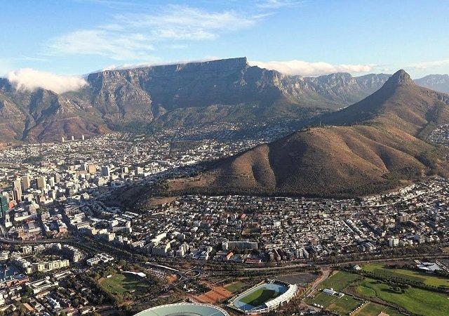Table Mountain na Cidade do Cabo