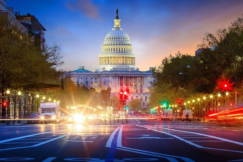Principais locadoras de carro em Washington DC