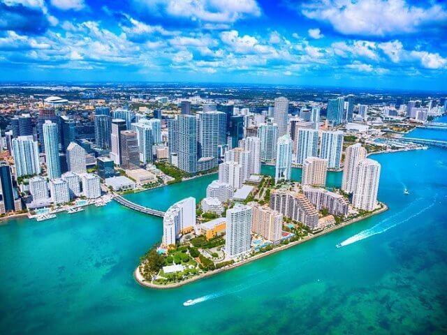 Melhores locadoras de carro em Miami