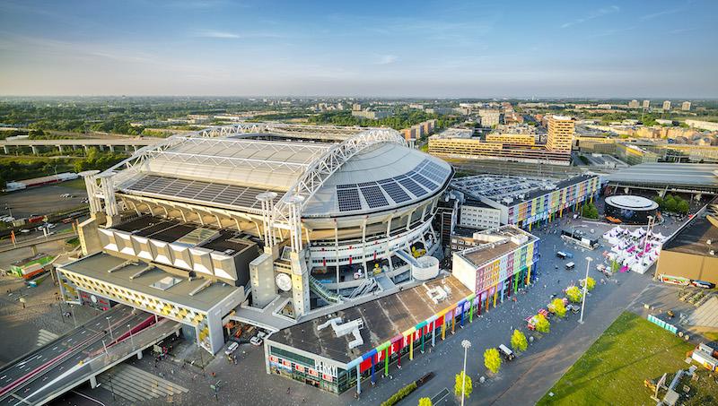 Estádio Johan Crujiff ArenA em Amsterdã