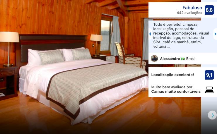 HotelAlma del Lago Suites & Spa em Bariloche
