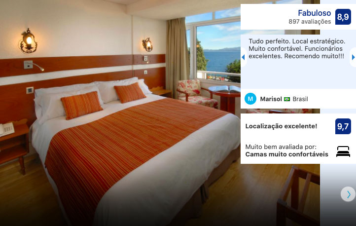 Hotel Tirol em Bariloche