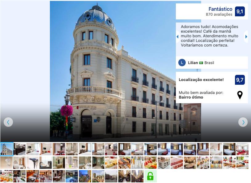 Hotel NH Collection Victoria em Granada