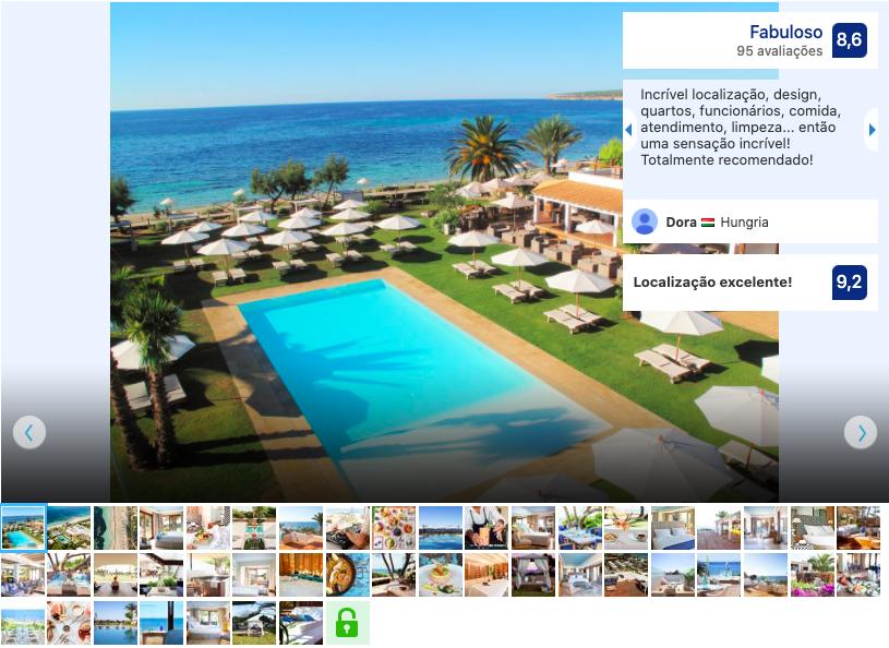 Hotel Gecko & Beach Club em Formentera