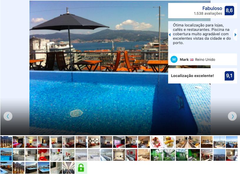 Hotel Axis em Vigo