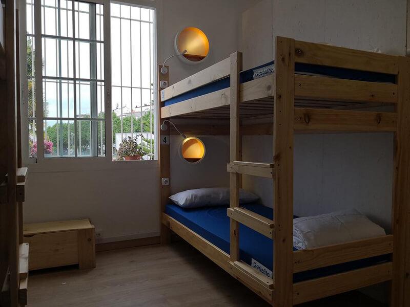 Dormitório do Hostel SCQ