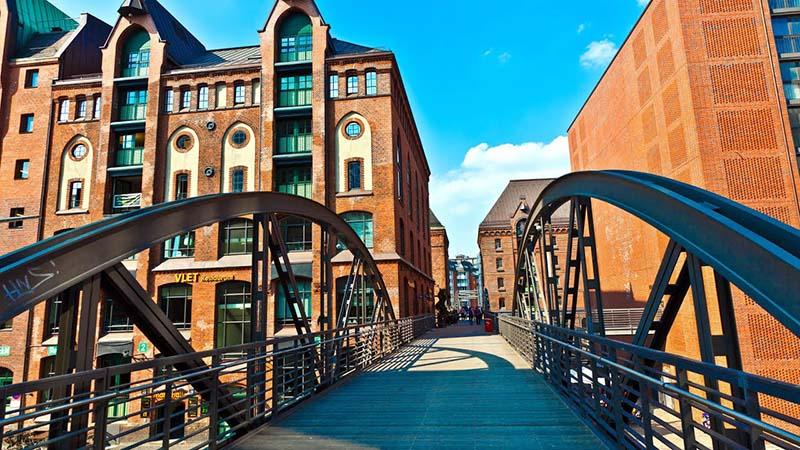 Famosas pontes de Hamburgo