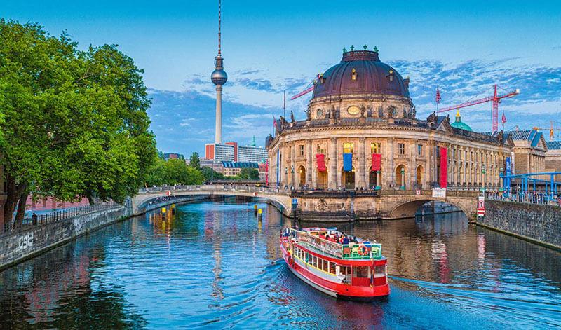 Ilha dos Museus em Berlim