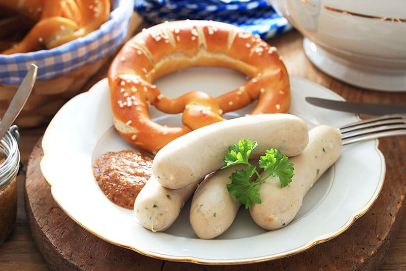 Tradicional salsicha da Alemanha