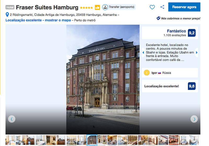 Hotel Fraser Suites Hamburg