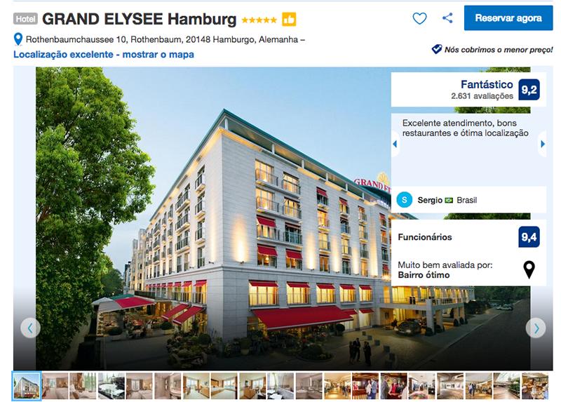 Hotel GRAND ELYSEE Hamburg