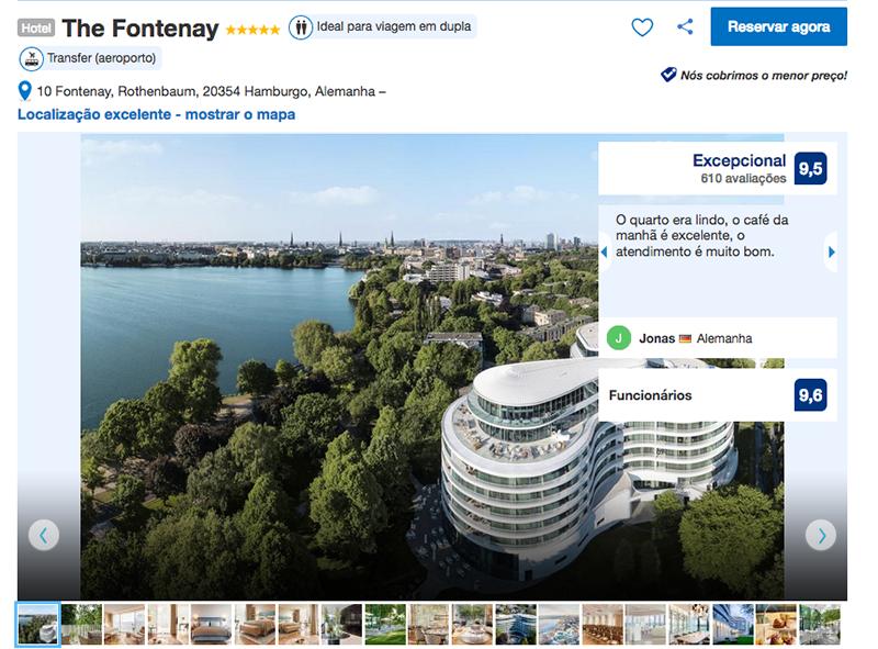 Hotel The Fontenay em Hamburgo