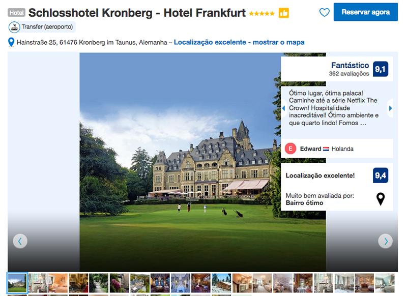 Hotel Schlosshotel Kronberg em Frankfurt
