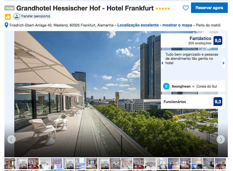 Grandhotel Hessischer Hof em Frankfurt