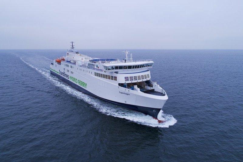 Viagem de ferry boat na Alemanha