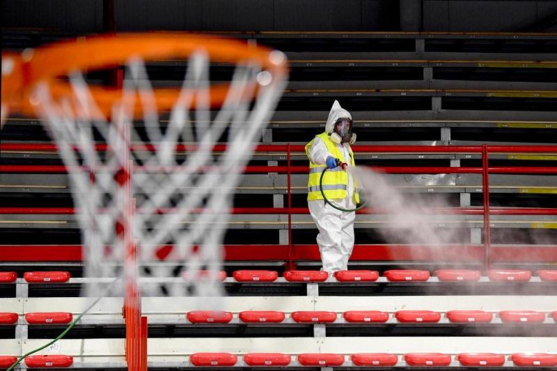 Esportes profissionais durante a pandemia na Califórnia