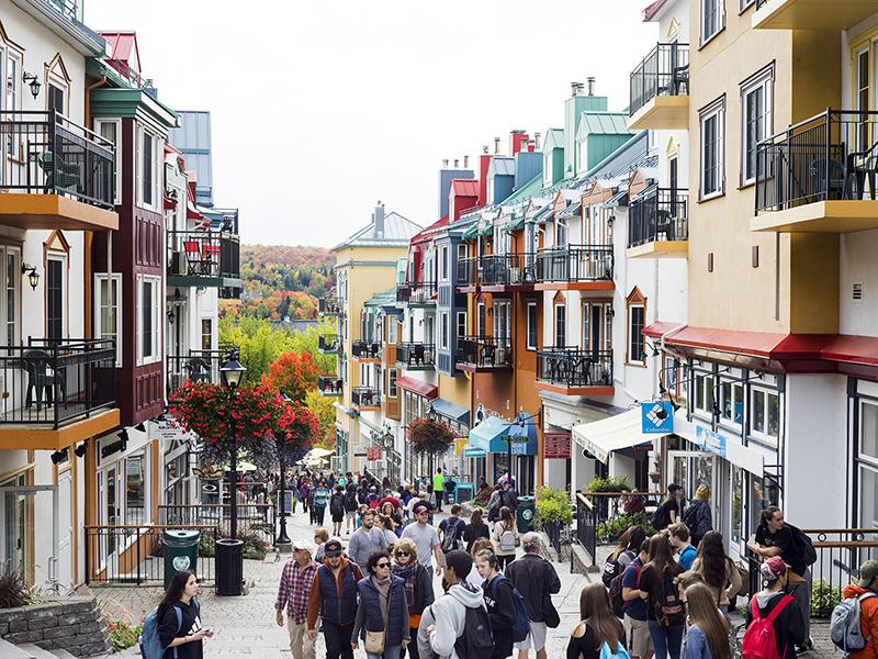 Ruas de Mont-Tremblant em Montreal