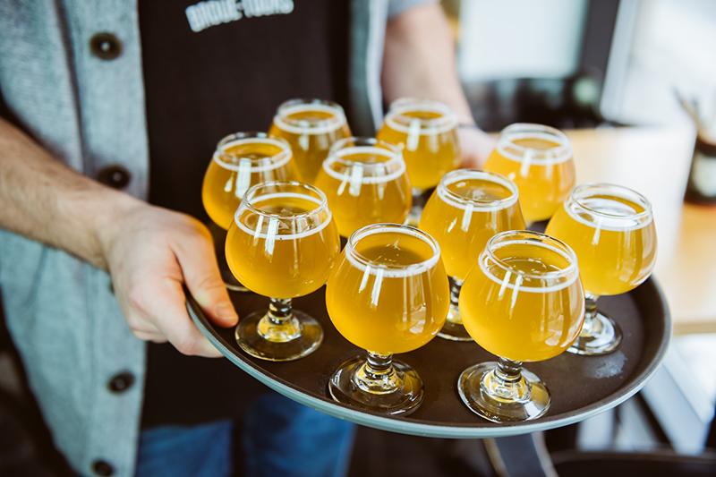 Bebida das cervejarias em Montreal