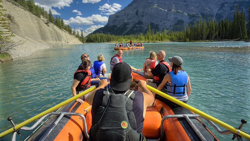 Instrutor do Passeio de Rafting em Banff