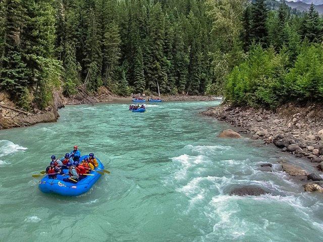 Passeio de Rafting em Banff
