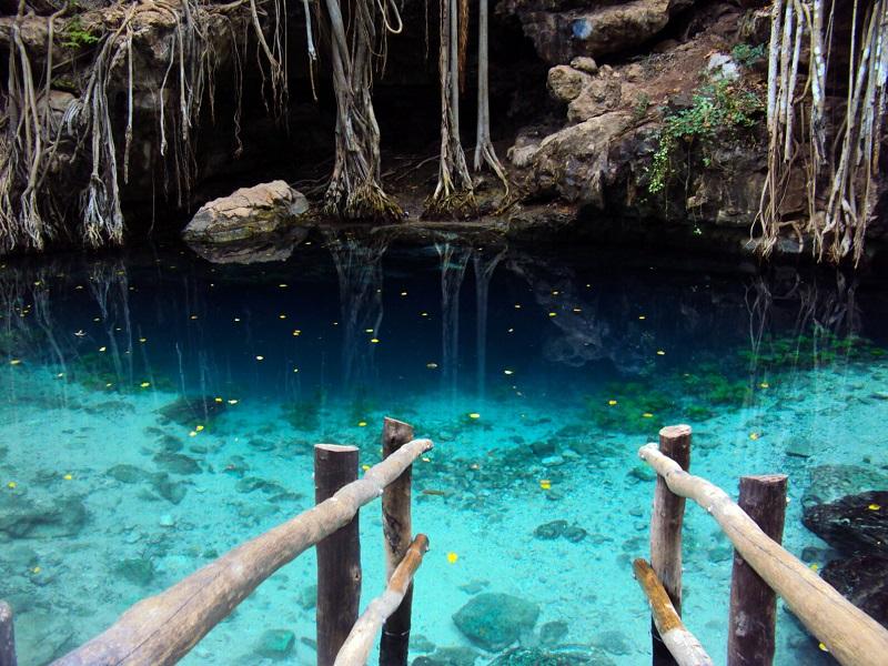 Beleza de Cenote no México