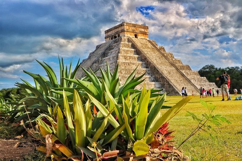 Passeio em Chichen-Itzá
