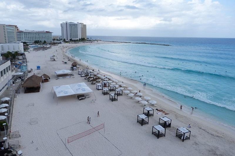 Playa Gaviota Azul em Cancún