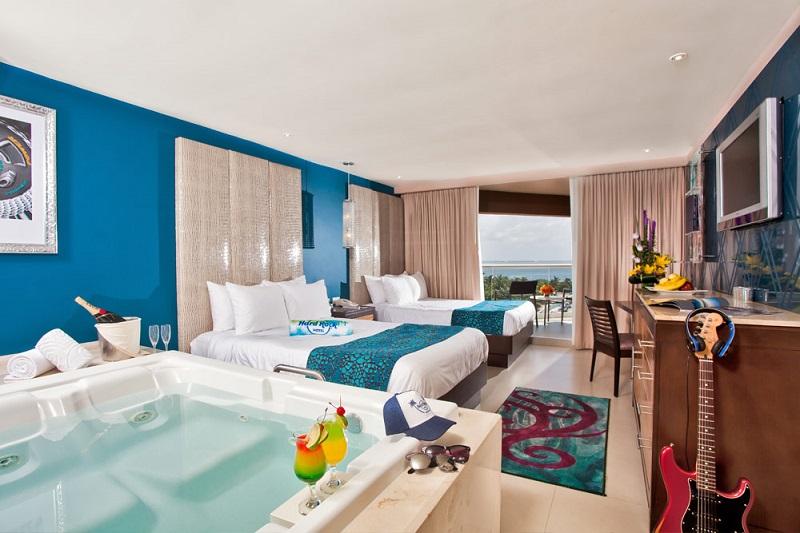 Quarto de hotel resort all inclusive em Cancún